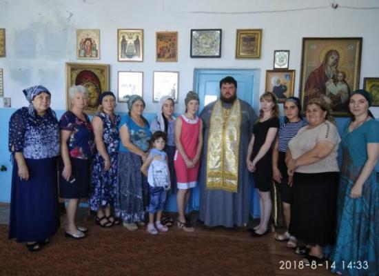 В Ставд-Дорте состоялся праздничный молебен