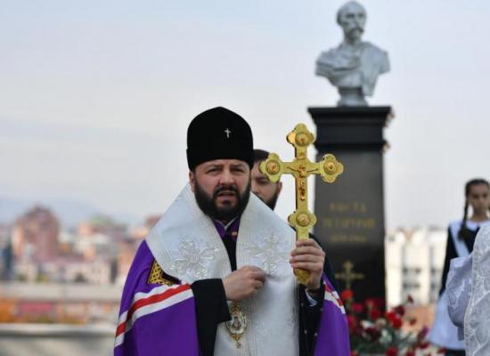 Архиепископ Леонид совершил литию на могиле Коста Хетагурова