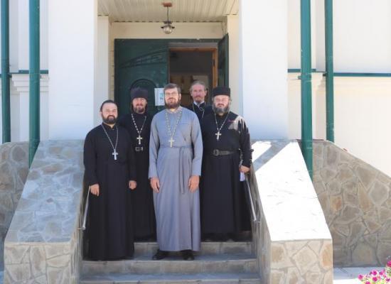 В станице Архонская состоялось собрание духовенства Октябрьского благочиния
