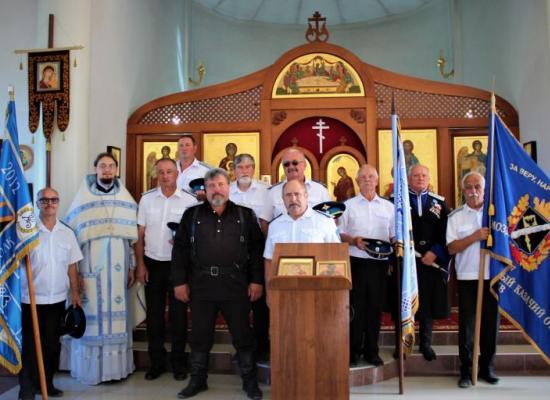 В ст. Луковской прошли праздничные мероприятия, посвященные дню основания Терского казачьего войска