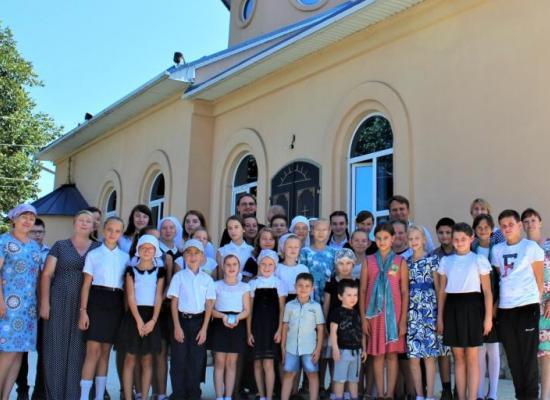 В воскресной школе ст. Луковской отметили начало нового учебного года