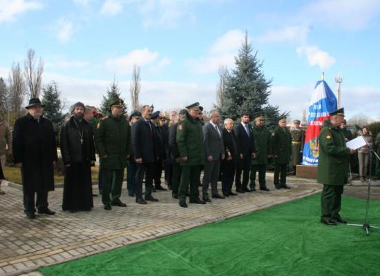 Представитель Владикавказской епархии принял участие в открытии Дома «Юнармии» и парка «Патриот»