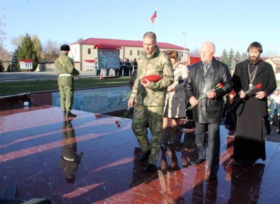 В бригаде войск Национальной гвардии вспоминали погибших военнослужащих