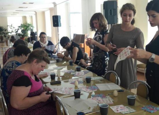 Представители Молодежного отдела Владикавказской епархии посетили дом-интернат для престарелых и инвалидов «Забота»