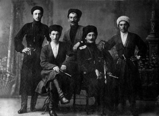 Георгиевские кавалеры Осетинского конного полка