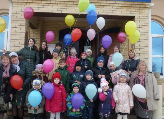 Ученики воскресной школы ст. Луковской отметили Прощеное воскресенье