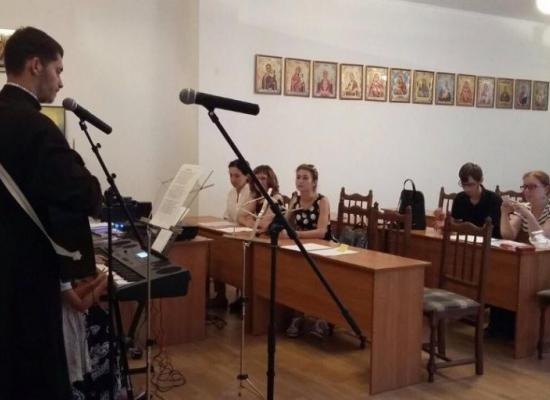 В Духовно-просветительском центре «Покров» проходят занятия по церковному пению