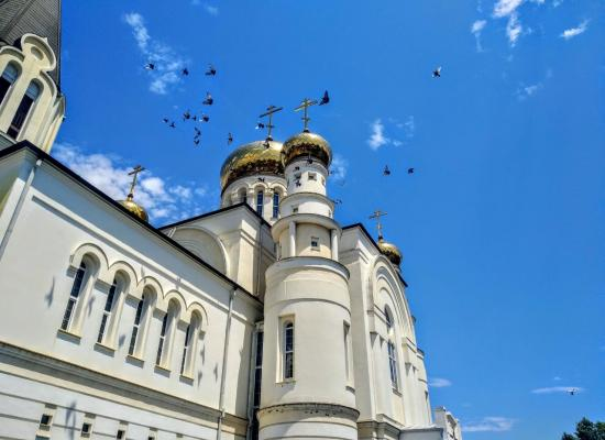 Праздничный трезвон по случаю дня крещения Руси