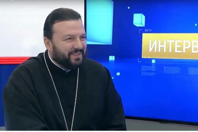 Архиепископ Леонид дал интервью программе Вести.Интервью с Розой Камболовой по итогам 2019 года