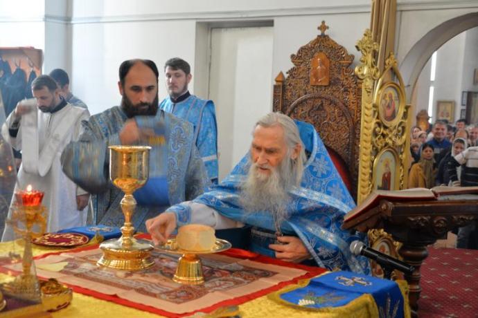 Схиархимандрит Илий (Ноздрин) приехал в Северную Осетию