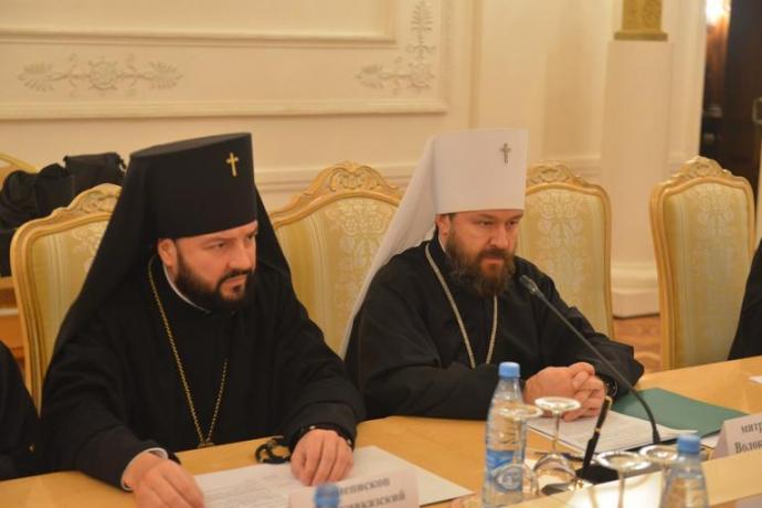 Архиепископ Леонид принял участие в заседании Рабочей группы по взаимодействию Русской Православной Церкви и МИД России