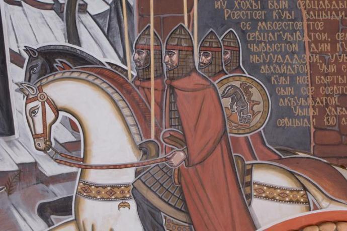 ПРИВЕТСТВИЕ АРХИЕПИСКОПА ЛЕОНИДА В ДЕНЬ ОСЕТИНСКОГО ЯЗЫКА И ЛИТЕРАТУРЫ