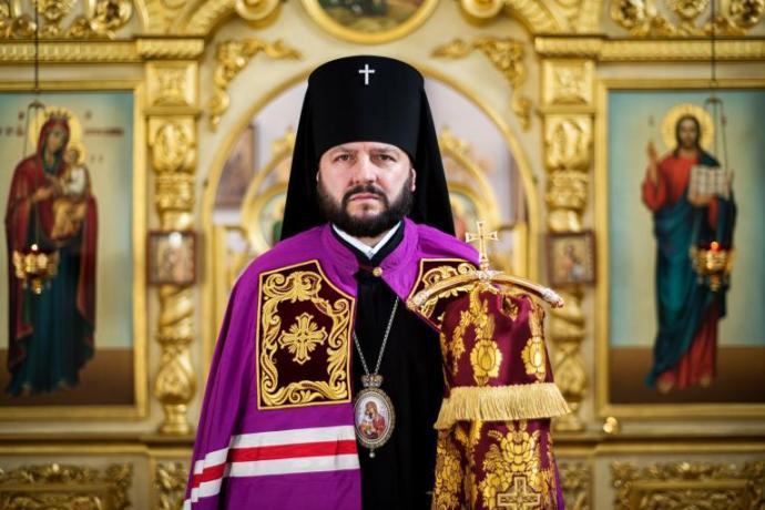 Поздравление архиепископу Леониду с днем архиерейской хиротонии