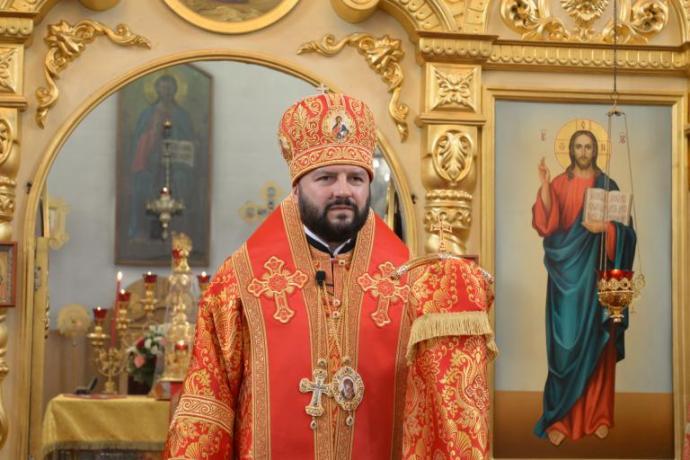Поздравление архиепископу Леониду с днем тезоименитства и 30-летием монашеского пострига