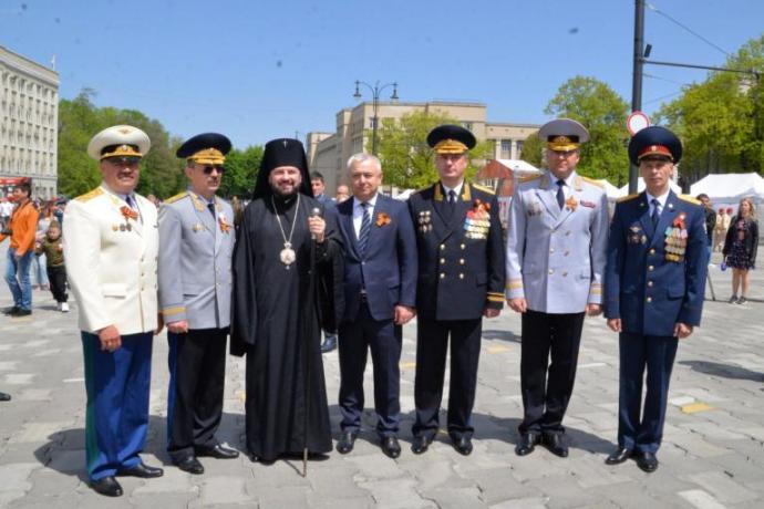 Во Владикавказе прошли торжества по случаю Дня Победы