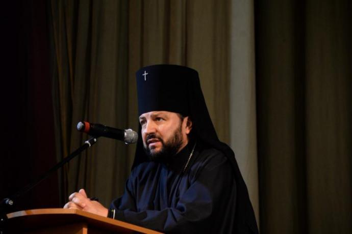 Архиепископ Леонид принял участие в отчетно-выборной конференции национально-культурного общества «Русь»