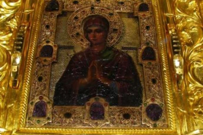"""В Осетию доставят мироточивую икону Божией Матери """"Умягчение злых сердец"""""""