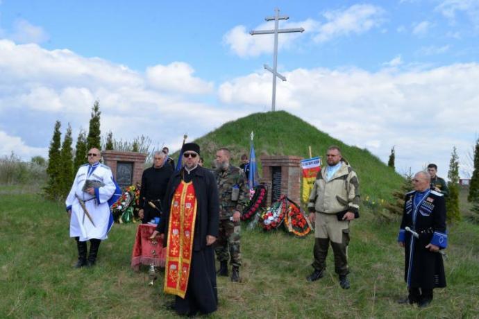 В Беслане почтили память терских казаков, погибших в годы репрессий
