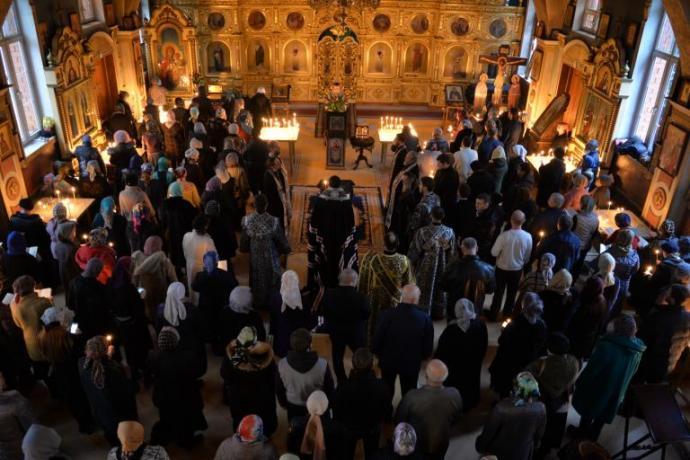 В храмах Владикавказской епархии завершилось чтение Великого покаянного канона преподобного Андрея Критского