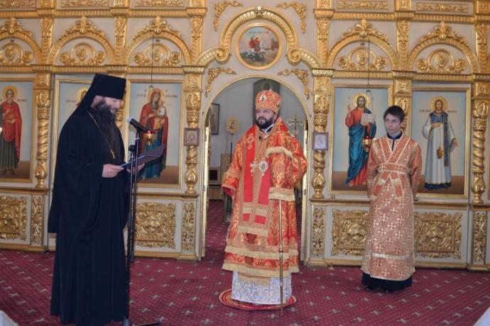 Во Владикавказской епархии отметили тезоименитство правящего архиерея