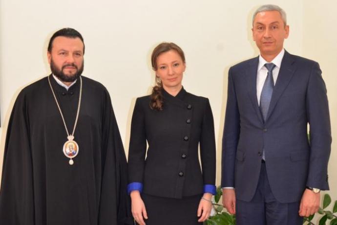 Епископ Леонид встретился с Уполномоченным при Президенте РФ по правам ребенка Анной Кузнецовой