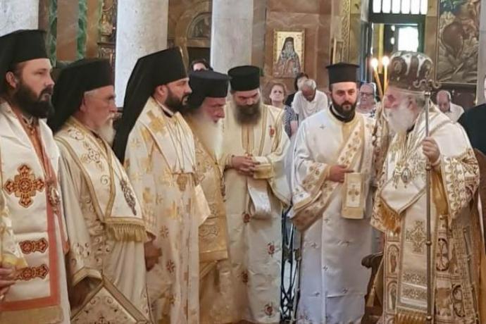Архиепископ Леонид совершил поездку в Египет