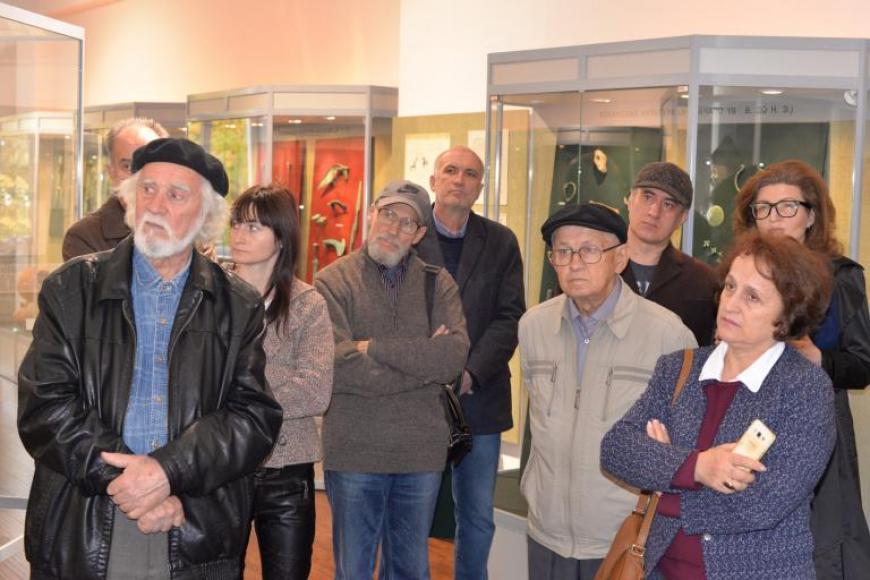 Участники художественного конкурса «Алания: образы прошлого» посетили Музей древностей Алании