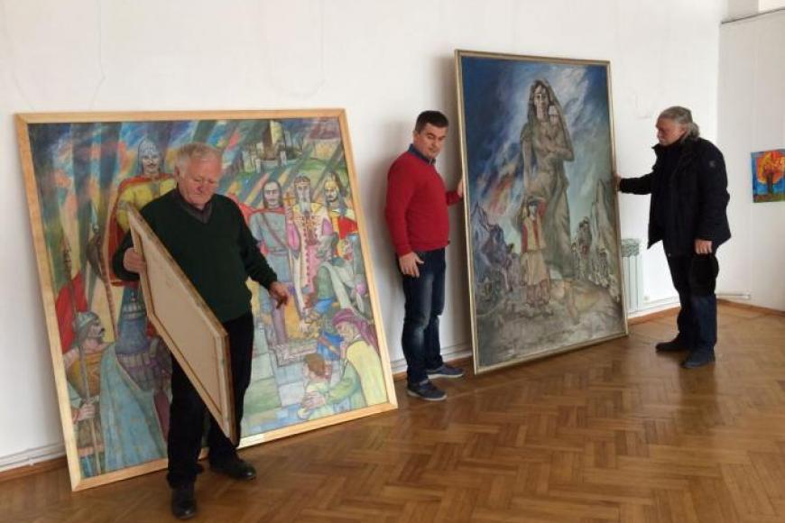 На конкурс живописи и графики «Алания: образы прошлого» представлено 43 картины