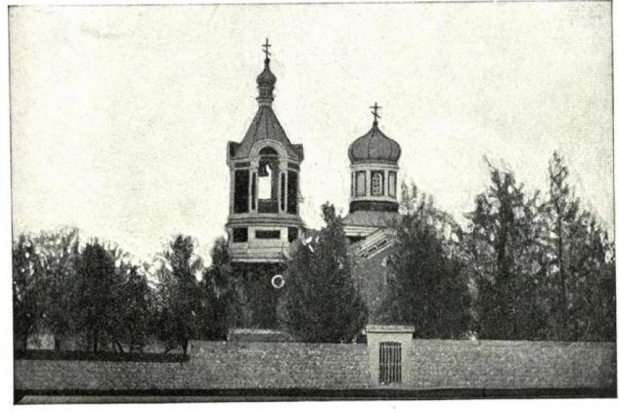 ХъÆдгÆроны  аргъуан / Церковь селения Кадгарон»